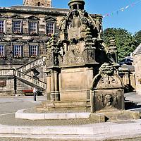 Linlithgow Cross , Linlithgow, West Lothian , Scotland