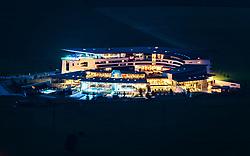 THEMENBILD - die beleuchtete Tauern SPA am Abend, aufgenommen am 22. Juni 2017, Kaprun, Österreich // The illuminated Tauern SPA in the evening in Kaprun, Austria on 2017/05/22. EXPA Pictures © 2017, PhotoCredit: EXPA/ JFK