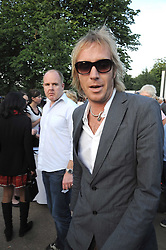 Actor RHYS IFANS at a party at the Serpentine Gallery, Kensington Gardens, London to unveil their summer Pavilion designed by Frank Gehry on 20th July 2008.<br /> <br /> NON EXCLUSIVE - WORLD RIGHTS