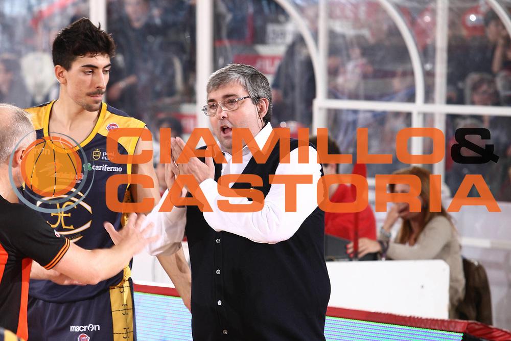 DESCRIZIONE : Teramo Lega A 2010-11 Banca Tercas Teramo Fabi Shoes Montegranaro<br /> GIOCATORE : Stefano Pillastrini<br /> SQUADRA : Fabi Shoes Montegranaro<br /> EVENTO : Campionato Lega A 2010-2011<br /> GARA : Banca Tercas Teramo Fabi Shoes Montegranaro<br /> DATA : 23/04/2011<br /> CATEGORIA : coach<br /> SPORT : Pallacanestro<br /> AUTORE : Agenzia Ciamillo-Castoria/M.Carrelli<br /> Galleria : Lega Basket A 2010-2011<br /> Fotonotizia : Teramo Lega A 2010-11 Banca Tercas Teramo Fabi Shoes Montegranaro<br /> Predefinita :
