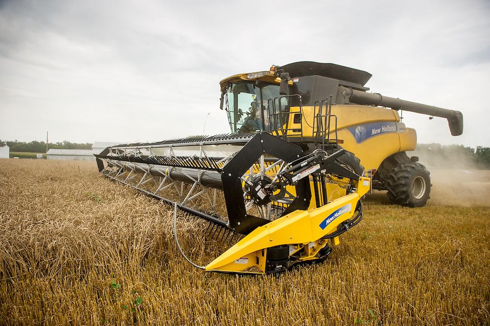 Combine harvester<br /> Centerville MD