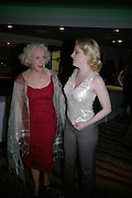 Susie Blake and Helen Dallimore,, Cast change for Wicked. Apollo Victoria theatre. After party at Park Plaza Victoria. 12 April 2007.  -DO NOT ARCHIVE-© Copyright Photograph by Dafydd Jones. 248 Clapham Rd. London SW9 0PZ. Tel 0207 820 0771. www.dafjones.com.