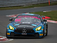 #66 Team Parker Racing Ltd Nick Jones Scott / Malvern Mercedes-AMG GT4 Pro/AM during British GT Championship as part of the British GT and BRDC British F3 Championship at Oulton Park, Little Budworth, Cheshire, United Kingdom. March 31 2018. World Copyright Peter Taylor/PSP.