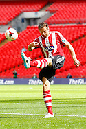 Lee Bright of Sholing during the FA Vase match at Wembley Stadium, London<br /> Picture by David Horn/Focus Images Ltd +44 7545 970036<br /> 10/05/2014