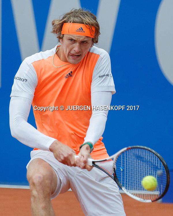 ALEXANDER ZVEREV (GER), Endspiel, Final<br /> <br /> Tennis - BMW Open 2017 -  ATP  -  MTTC Iphitos - Munich -  - Germany  - 7 May 2017.