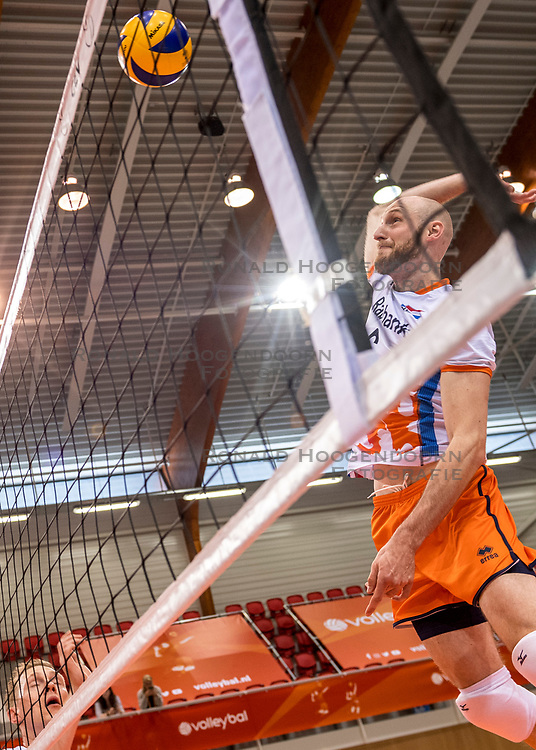 20-05-2018 NED: Netherlands - Slovenia, Doetinchem<br /> First match Golden European League / Jasper Diefenbach #6 of Netherlands