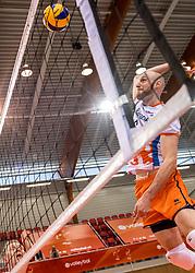 20-05-2018 NED: Netherlands - Slovenia, Doetinchem<br /> First match Golden European League / Jasper Diefenbach #6 of Netherlands