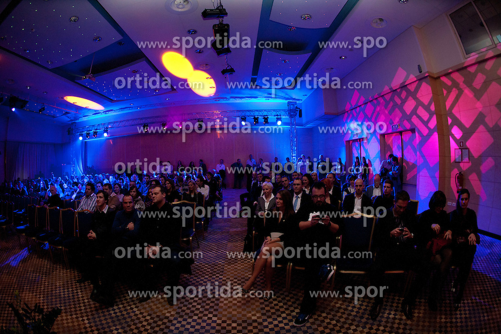 Sporto 2011Gala Dinner and Awards ceremony at Sports marketing and sponsorship conference Sporto 2011, on November 21, 2011 in Hotel Slovenija, Portoroz / Portorose, Slovenia. (Photo By Vid Ponikvar / Sportida.com)