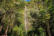 Waimoku Falls, Pipiwai Trail, Haleakala National Park, Kipahulu, Hana Road, Maui, Hawaii