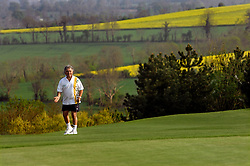 NORMANDY, FRANCE - MAY-01-2007 - David Sabbag of Australia, reacts to his missed putt on to the 9th hole of the L'Etang course of the Omaha Beach Golf Club -  Course: L' Etang (The Lake) Hole 9 - 479 yards - Par 5 (Photo © Jock Fistick)