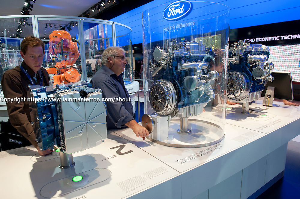 New Ford  low emission engines on display at Paris Motor Show 2010