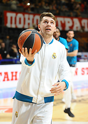 Luka Doncic of Real Madrid during basketball match between Crvena Zvezda mts Belgrade and Real Madrid in Round #29 of Euroleague 2017/18, on March 30, 2018 in Hala Pionir, Belgrade, Serbia. Photo by Nebojsa Parausic / Sportida