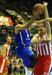 CRVENA ZVEZDA vs TAJFUN<br /> Beograd, 08.10.2015.<br /> foto: Nebojsa Parausic<br /> <br /> Kosarka, Crvena zvezda, Tajfun, Jadranska ABA liga, Sandi Cebular