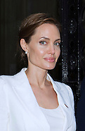Angelina Jolie Meets PM David Cameron At No.10