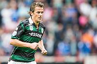 EINDHOVEN - PSV - FC Groningen , Voetbal , Seizoen 2015/2016 , Eredivisie , Philips stadion , 16-08-2015 , FC Groningen speler Etienne Reijnen maakt zijn debuut in het Groningen shirt