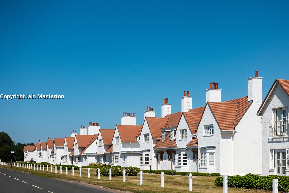 Villas at Trump Turnberry Golf Course in Ayrshire, Scotland , UK