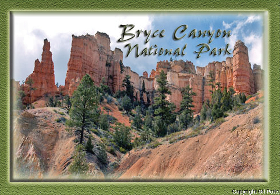 Souvenir Magnets for Bryce Canyon National Park