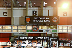A general view of Bramall Lane prior to kick off - Photo mandatory by-line: Matt McNulty/JMP - Mobile: 07966 386802 - 28/01/2015 - SPORT - Football - Sheffield - Bramall Lane - Sheffield United v Tottenham Hotspur - Capital One Cup