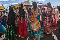 Parade, Flavors of India Festival, Crossroads Park, Bellevue