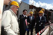 DESCRIZIONE : Roma Tor Vergata PalaCalatrava Commissione FIBA in visita per assegnazione dei Mondiali 2014<br /> GIOCATORE : Santiago Calatrava Boris Stankovic<br /> SQUADRA : Fiba Fip<br /> EVENTO : Visita per assegnazione dei Mondiali 2014<br /> GARA :<br /> DATA : 02/04/2009<br /> CATEGORIA : Ritratto<br /> SPORT : Pallacanestro<br /> AUTORE : Agenzia Ciamillo-Castoria/G.Ciamillo<br /> Galleria : Italia 2014<br /> Fotonotizia : Roma visita per assegnazione dei Mondiali 2014<br /> Predefinita :