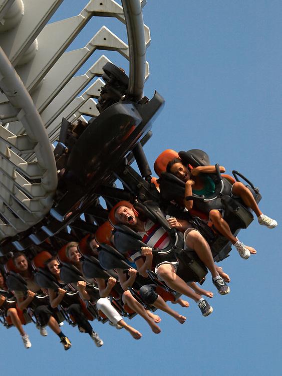 Italy - Gardaland - Rollercoaster