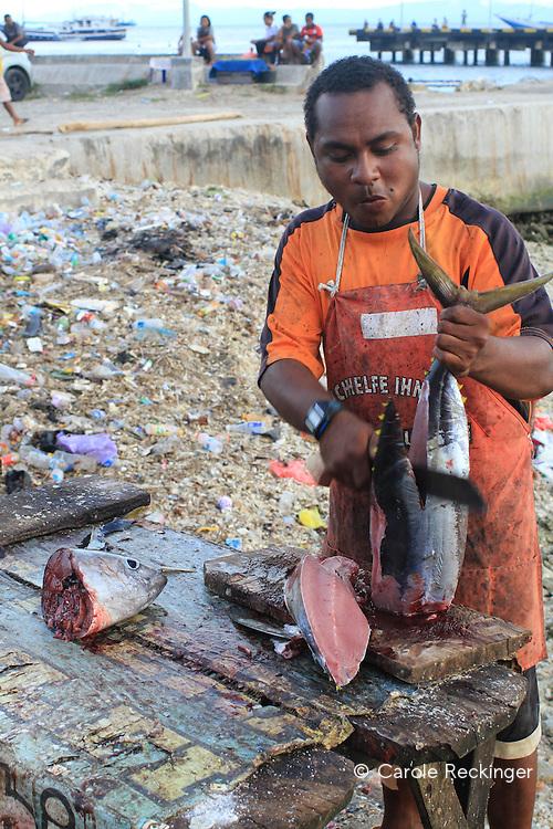 Biak fish market - pasar ikan
