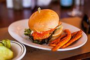 Buffalo Chicken Burger from Five Napkin Burger (P$FREE) - Dev Lunch July