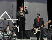 The Interrupters perform on May 5, 2019 at Metropolitan Park in Jacksonville, California (Photo: Charlie Steffens/Gnarlyfotos)