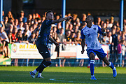 Leeds United midfielder Ben White (4) in action during the Pre-Season Friendly match between Guiseley  and Leeds United at Nethermoor Park, Guiseley, United Kingdom on 11 July 2019.
