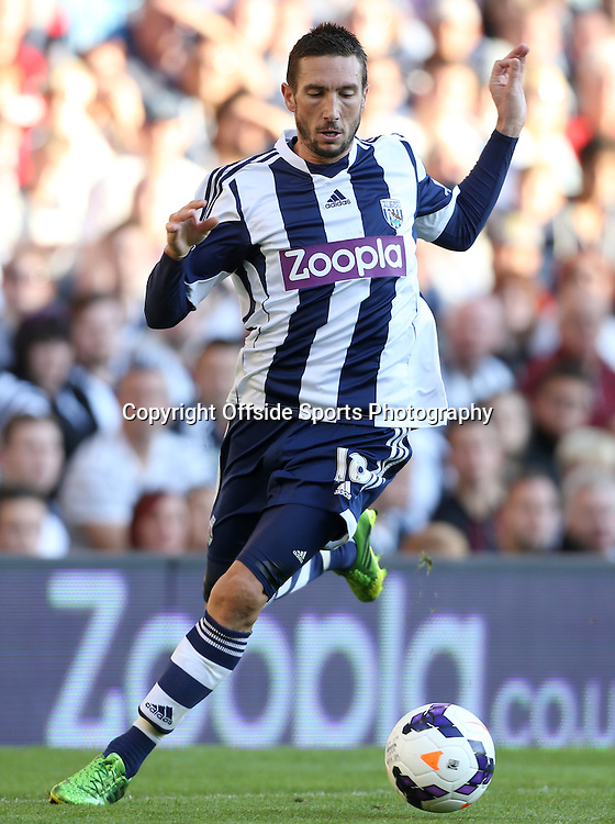 6th October 2013 - Barclays Premier League - West Bromwich Albion v Arsenal - Morgan Amalfitano of West Brom - Photo: Simon Stacpoole / Offside.