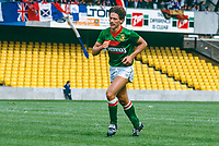 Jim Cowden, footballer, Glentoran FC, Belfast, N Ireland, UK, 19850811001..Copyright Image from Victor Patterson, 54 Dorchester Park, Belfast, UK, BT9 6RJ..Tel: +44 28 9066 1296.Mob: +44 7802 353836.Voicemail +44 20 8816 7153.Skype: victorpattersonbelfast.Email: victorpatterson@mac.com.Email: victorpatterson@ireland.com (back-up)..IMPORTANT: If you wish to use this image or any other of my images please go to www.victorpatterson.com and click on the Terms & Conditions. Then contact me by email or phone with the reference number(s) of the image(s) concerned.