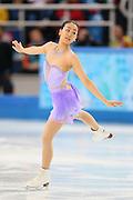 "Mao Asada (JPN), <br /> FEBRUARY 19, 2014 - Figure Skating : <br /> Women's Short Program <br /> at ""ICEBERG"" Skating Palace <br /> during the Sochi 2014 Olympic Winter Games in Sochi, Russia. <br /> (Photo by Yohei Osada/AFLO SPORT)"