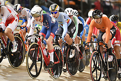 March 2, 2018 - Apeldoorn, Netherlands - Belgian Lotte Kopecky pictured in action during the omnium women event at the 2018 world championships track cycling in Apeldoorn, the Netherlands, Friday 02 March 2018. The track cycling worlds take place from 28 February to 04 March. (Credit Image: © Yorick Jansens/Belga via ZUMA Press)