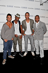 JLS at the Glamour Women of The Year Awards 2011 held in Berkeley Square, London W1 on 7th June 2011.