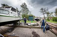 Kleinste jachthaven van Amsterdam