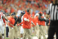 Chris Kiffin at Ole Miss vs. TCU in the Peach Bowl, in Atlanta, Ga. on Wednesday, December 31, 2014.