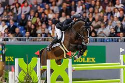 GUERY Jérome (BEL), Quel Homme de Hus<br /> Genf - CHI Geneve Rolex Grand Slam 2019<br /> Prix des Vins de Genève<br /> Internationales Springen Fehler/Zeit<br /> International Jumping Competition 1m45<br /> Table A: Against the Clock<br /> 12. Dezember 2019<br /> © www.sportfotos-lafrentz.de/Stefan Lafrentz