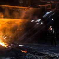 04/04/16 - BRITISH STEEL - Scunthorpe - Heavy End - Iron & Steel Production