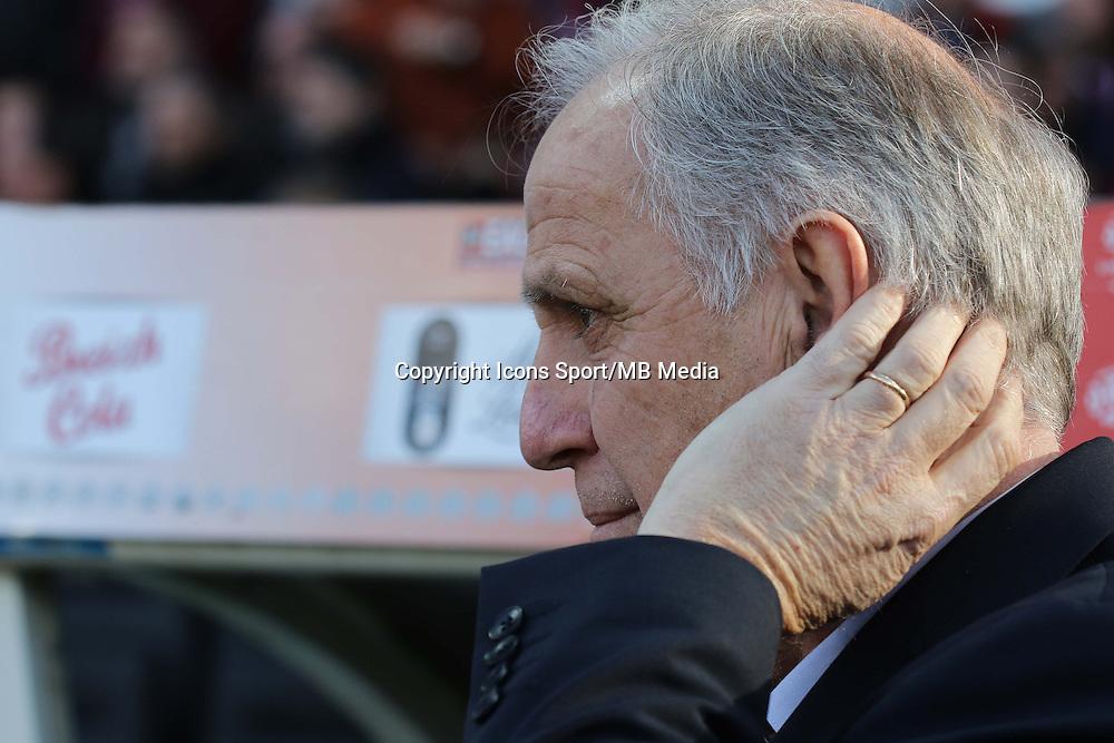 Rene GIRARD  - 08.03.2015 - Guingamp / Lille - 28eme journee de Ligue 1 <br /> Photo : Vincent Michel / Icon Sport