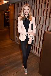 Donna Air at a party to celebrate the publication of Place by Tara Bernerd held at il Pampero at The Hari, 20 Chesham Place, London, England. 8 March 2017.