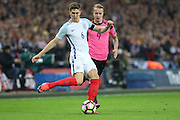 England Defender John Stones during the FIFA World Cup Qualifier group stage match between England and Scotland at Wembley Stadium, London, England on 11 November 2016. Photo by Phil Duncan.