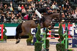 HELLSTRÖM Jacob (SWE), Jus d'Orange van'T Bisthof<br /> Leipzig - Partner Pferd 2019<br /> Eröffnungsspringen<br /> 17. Januar 2019<br /> © www.sportfotos-lafrentz.de/Stefan Lafrentz