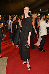 ERIN O'CONNOR at the GQ Men of The Year Awards 2016 in association with Hugo Boss held at Tate Modern, London on 6th September 2016.
