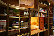 Bookstore-Themed  Hotel Has 5000 Books And Sleeping Shelves Next To Them<br /> <br /> Some people love books, while other get put to sleep by them. Book and Bed in Kyoto , Japan a bookstore-themed hotel Book And Bed Kyoto guests will sleep in bunks built inside the bookshelves. With up to 5000 books to choose from, there'll be a rich collection of both English and Japanese books to choose from. It's the ultimate spot for any book worm! Prices start from around $39 per night, and can be booked at bookandbedtokyo.com<br /> ©bookandbedtokyo.com/Exclusivepix Media