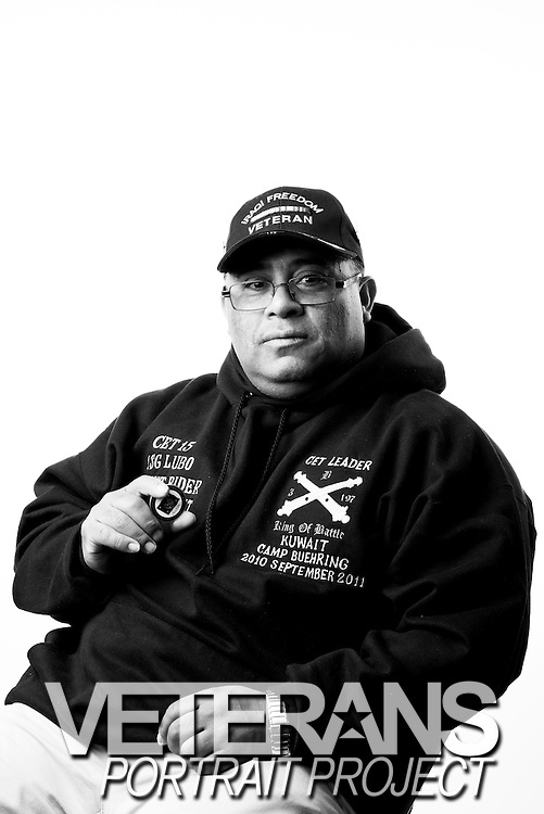 Luis C. Lubo<br /> Army<br /> E-6<br /> Waste Water Treatment<br /> 1983-1986<br /> 1997-2014<br /> OIF, OND<br /> <br /> WaterFire Event<br /> Veterans Portrait Project<br /> Providence, RI