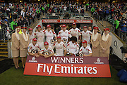 Twickenham, England. England winners of the Bowl Final, defeating Portugal, at the London Sevens Rugby, Twickenham Stadium, Sun, 27/05/2007 [Credit Peter Spurrier/ Intersport Images]