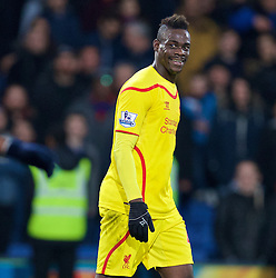 LONDON, ENGLAND - Saturday, February 14, 2015: Liverpool's Mario Balotelli during the FA Cup 5th Round match against Crystal Palace at Selhurst Park. (Pic by David Rawcliffe/Propaganda)