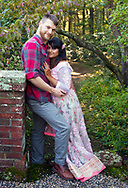 Simmi and Brian had their Save the Date photo session at the Bradley Estate in Canton, Massachusetts.