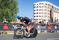 07.07.2019, Klagenfurt, AUT, Ironman Austria, Radfahren, im Bild Paul Reitmayr (AUT // Paul Reitmayr (AUT during the bike competition of the Ironman Austria in Klagenfurt, Austria on 2019/07/07. EXPA Pictures © 2019, PhotoCredit: EXPA/ Johann Groder