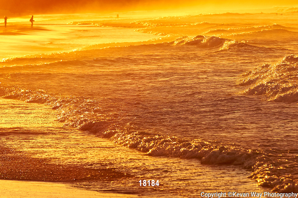 sunset shorebreak